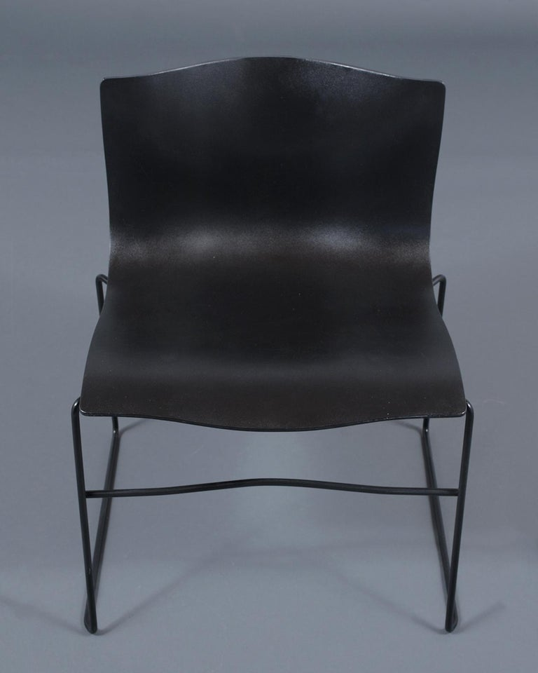 Polished Set of Knoll Handkerchief Chairs For Sale