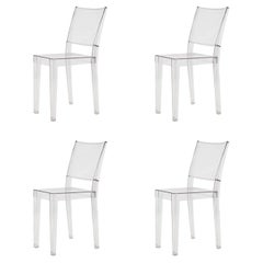 """Set of Four """"La Marie"""" Lucite Chairs by Philippe Starck"""