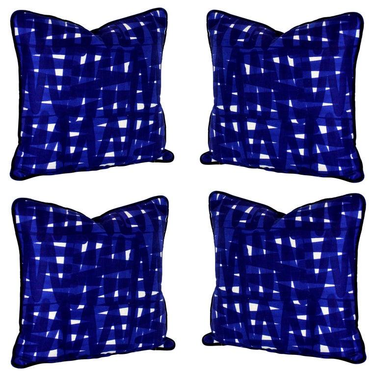 Set of Four Livio de Simone Cushions For Sale
