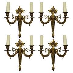 Set of Four Louis XVI Style Sconces