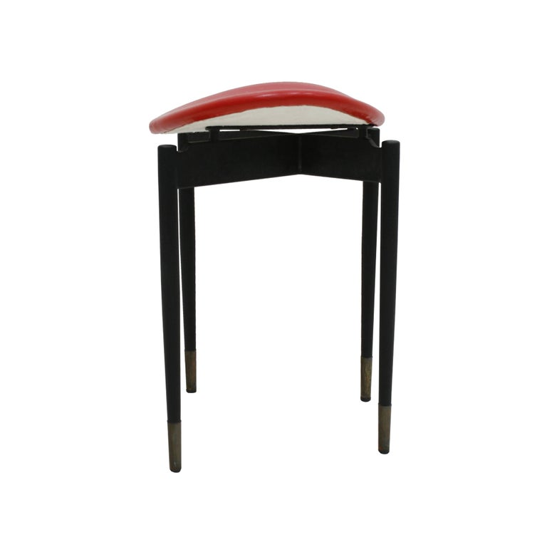 Set of four stools