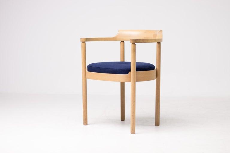 Scandinavian Modern Set of Four M40 Dining Chairs by Henning Jensen & Torben Valeur For Sale