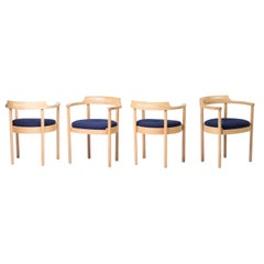 Set of Four M40 Dining Chairs by Henning Jensen & Torben Valeur