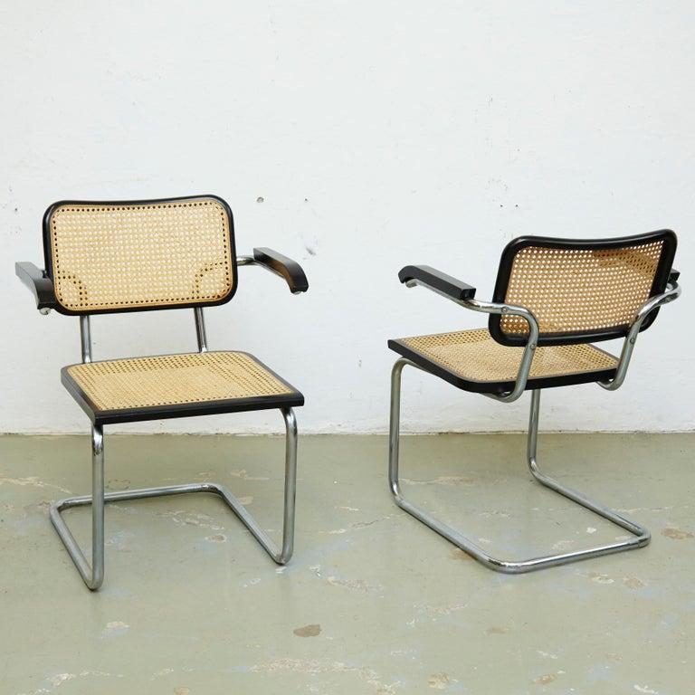 Set of Four Marcel Breuer Cesca Chairs, circa 1970 For Sale 7