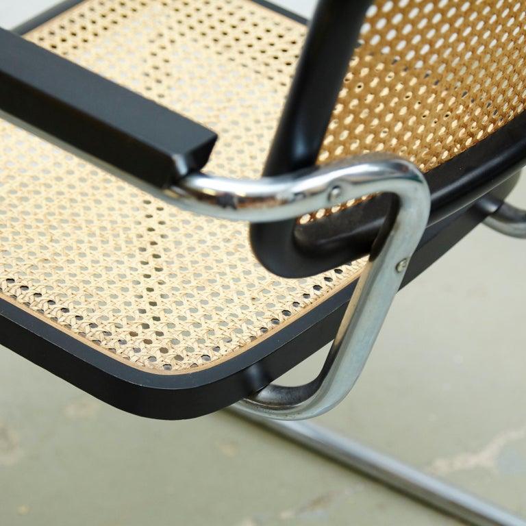 Set of Four Marcel Breuer Cesca Chairs, circa 1970 For Sale 8