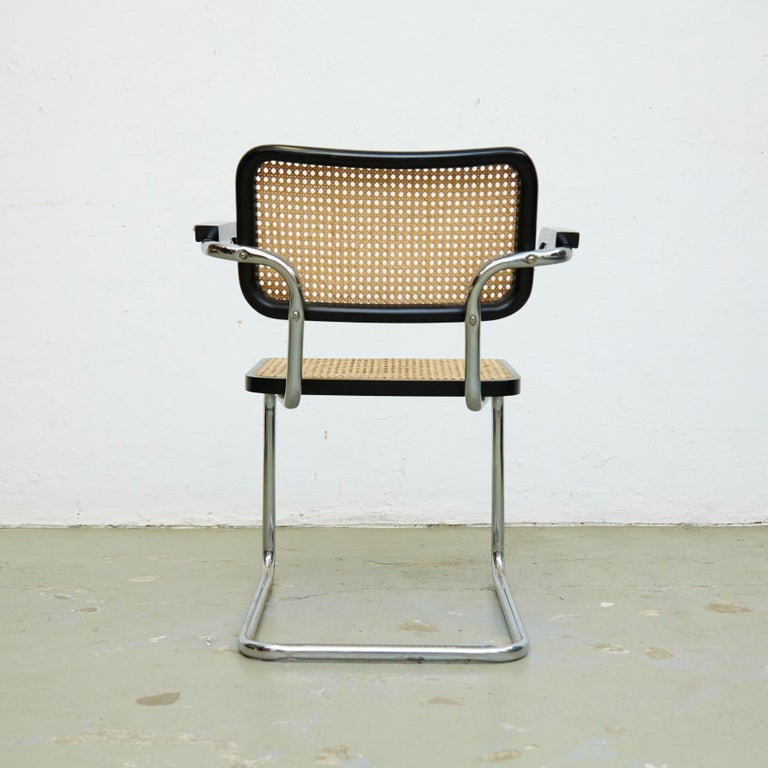 Set of Four Marcel Breuer Cesca Chairs, circa 1970 In Good Condition For Sale In Barcelona, Barcelona