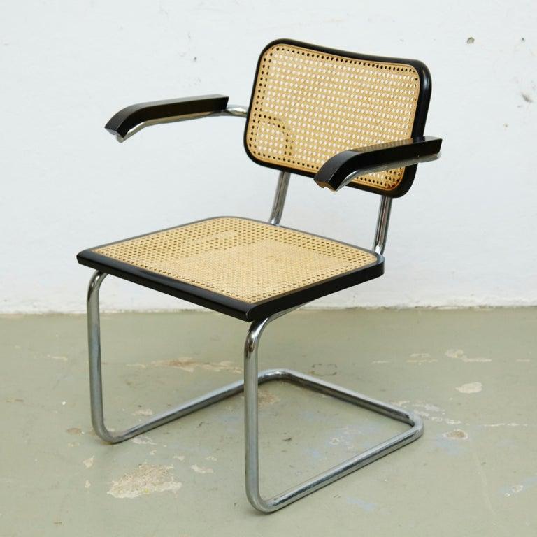 Set of Four Marcel Breuer Cesca Chairs, circa 1970 For Sale 1