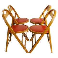 "Set of Four Mexican Folding Chairs  by ""Silleria La Malinche"""