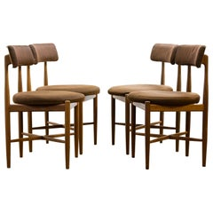 Set of Four Mid-20th Century Dining Chairs