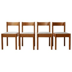 Set of Four Mid-Century Danish Dining Chairs '4'