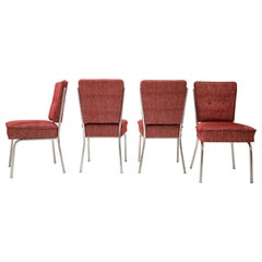 Set of Four Mid-Century Dining Chairs, 1960's