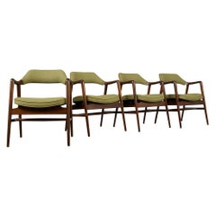 Set of Four Mid-Century Modern Style Dining Chairs