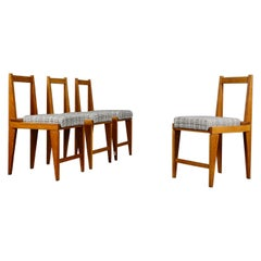 Set of Four Midcentury Chairs by Augusto Romano Years, 1950s