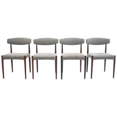 Set of Four Midcentury Chairs, Denmark, 1960s