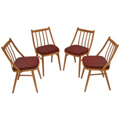 Set of Four Midcentury Dining Chairs by Antonín Šuman, 1980s