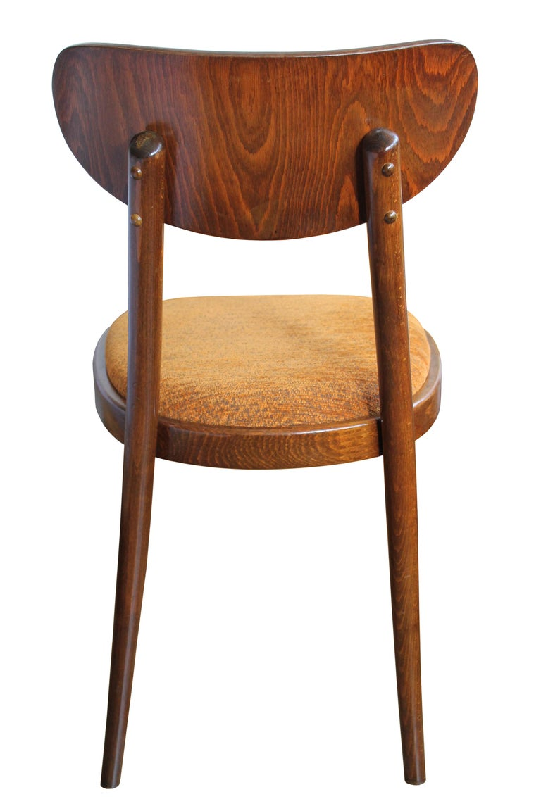 Other Set of Four Midcentury Dinning Chairs by Ton For Sale