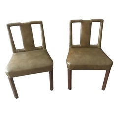 Set of Four Midcentury Games Chairs in the Style of Dorthy Draper/Billy Hanes