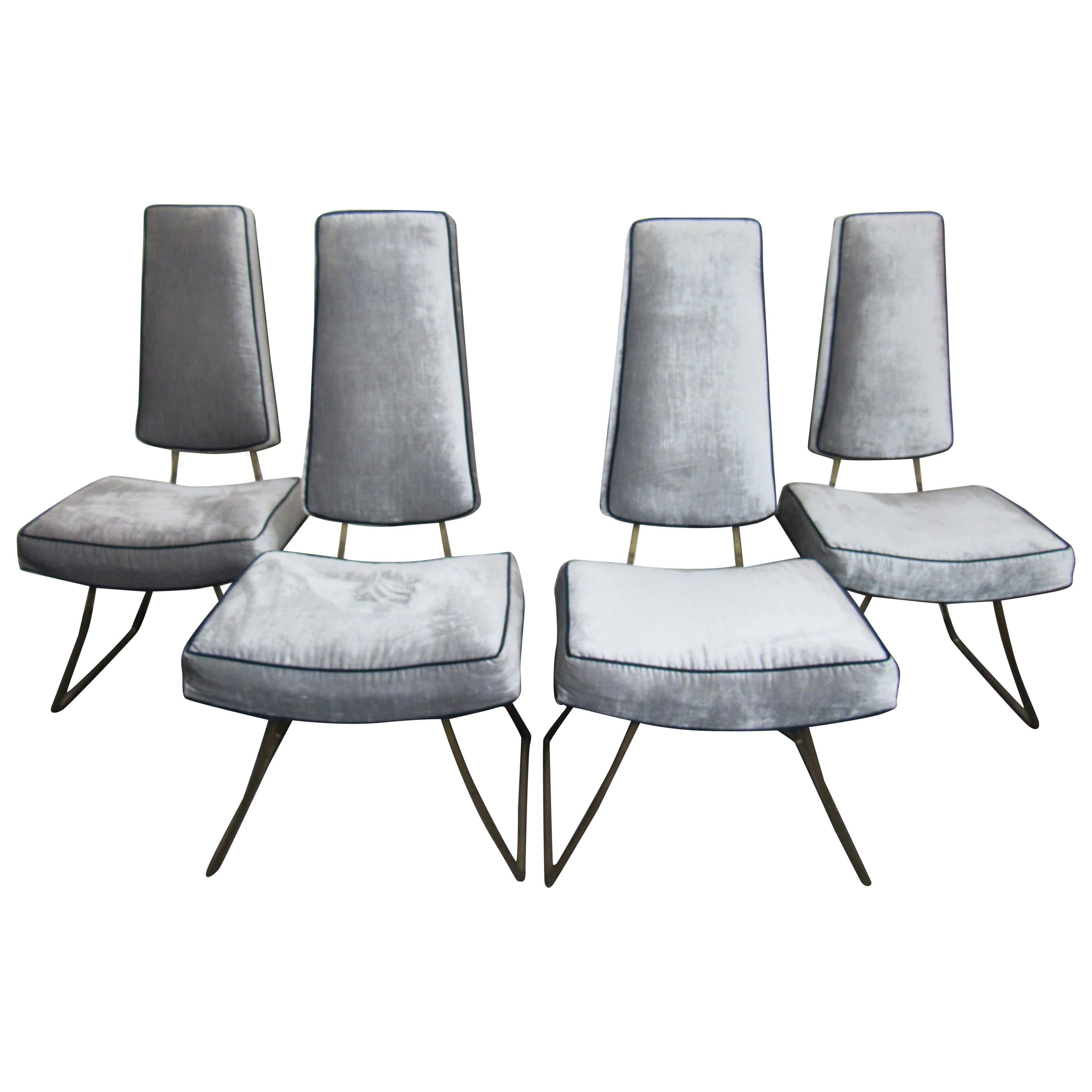 Set of Four Modern Chairs