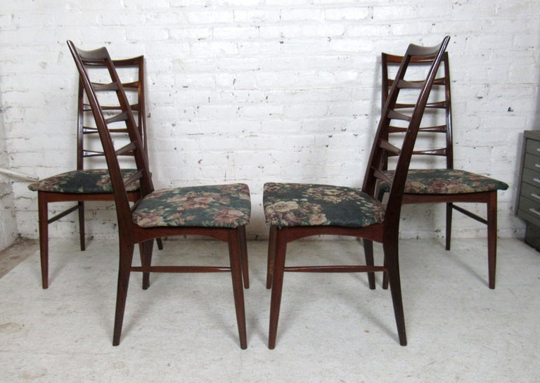 Set of Four Modern Dining Chairs For Sale 3