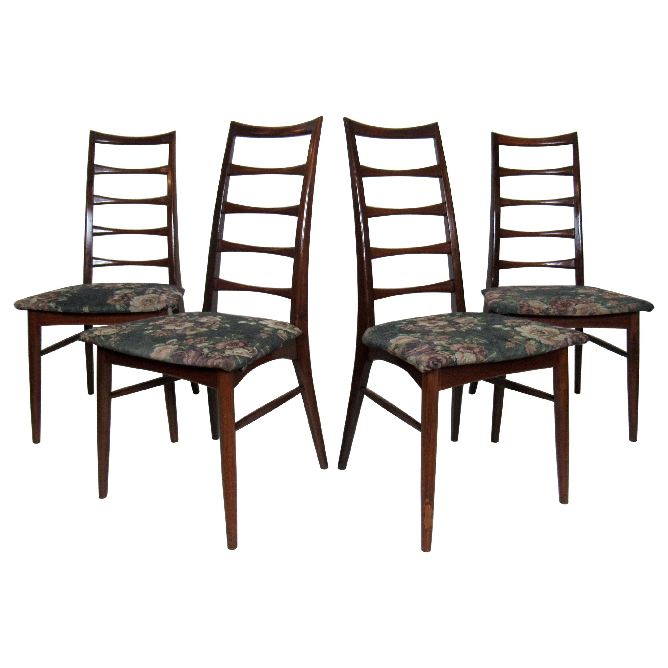 Set of Four Modern Dining Chairs