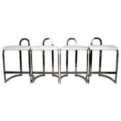 Set of Four Modern Style Counter Stools