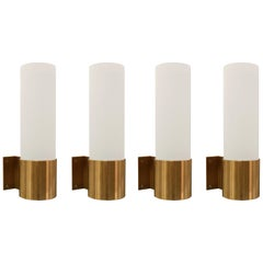 Set of Four Modernist Sconces