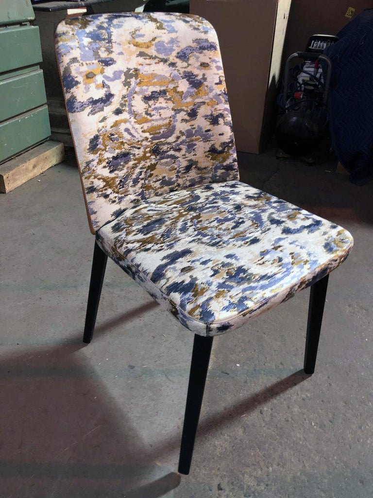 Modern Set of Four Montis Back Me Up Chairs For Sale