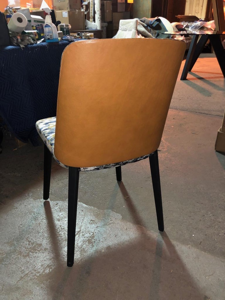 Set of Four Montis Back Me Up Chairs In Excellent Condition For Sale In New York, NY
