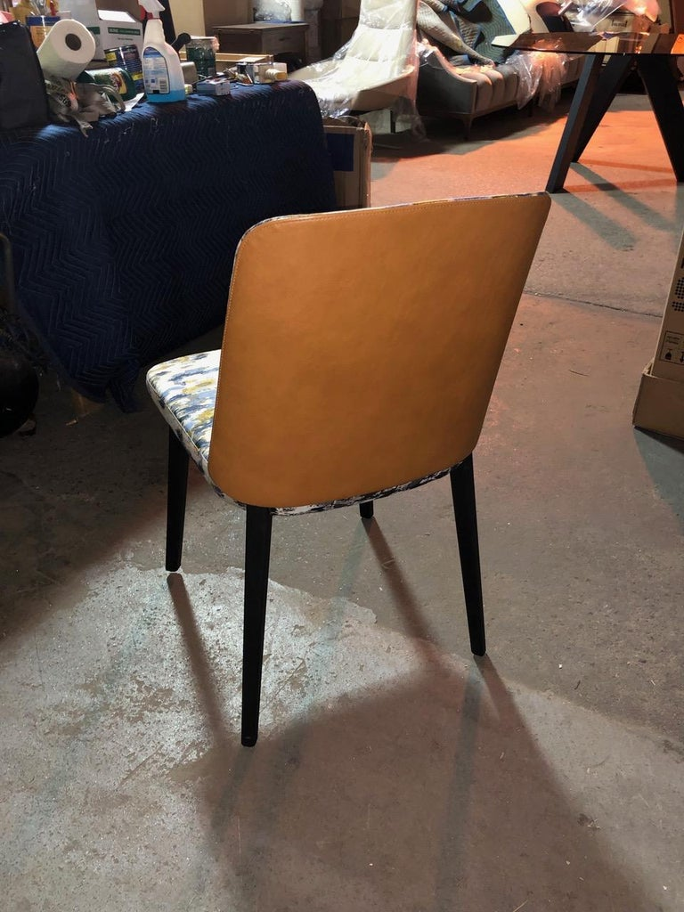 Contemporary Set of Four Montis Back Me Up Chairs For Sale