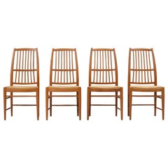 Set of four 'Napoli' Dining Room Chairs  by David Rosén for NK, Sweden, 1953