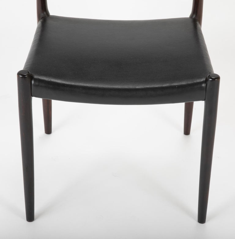 Set of Four Niels Moller Dining Chairs For Sale 1