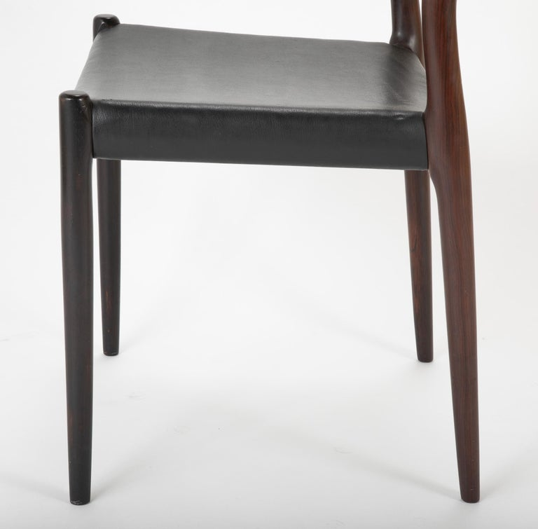 Set of Four Niels Moller Dining Chairs For Sale 3