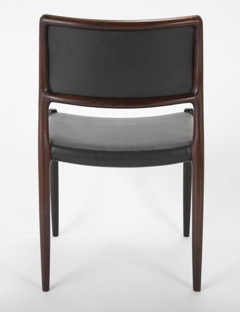 Set of Four Niels Moller Dining Chairs For Sale 4