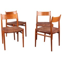 Set of Four Nordic Chairs