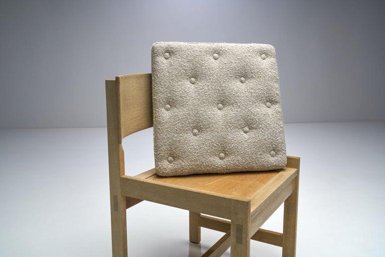Set of Four Oak Chairs by Ilse Rix for Uldum Møbelfabrik, Denmark, 1961 For Sale 5