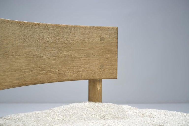 Set of Four Oak Chairs by Ilse Rix for Uldum Møbelfabrik, Denmark, 1961 For Sale 6