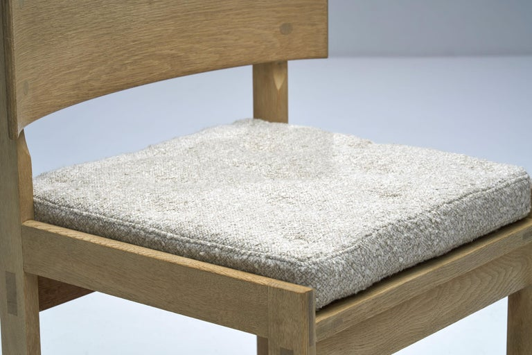Set of Four Oak Chairs by Ilse Rix for Uldum Møbelfabrik, Denmark, 1961 For Sale 10