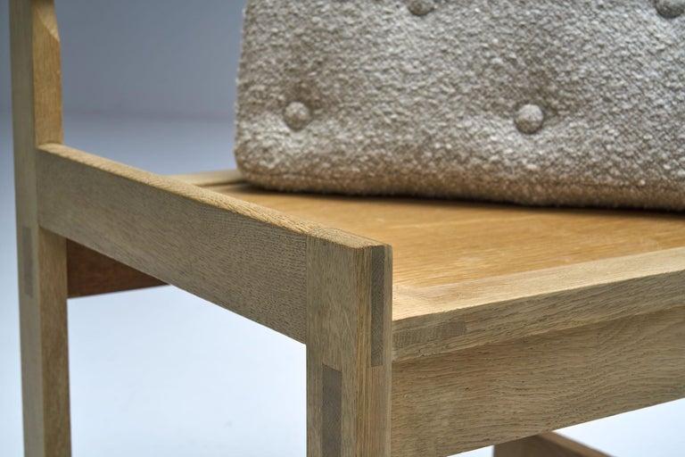 Set of Four Oak Chairs by Ilse Rix for Uldum Møbelfabrik, Denmark, 1961 For Sale 11