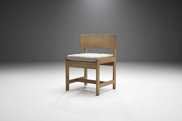 Set of Four Oak Chairs by Ilse Rix for Uldum Møbelfabrik, Denmark, 1961 For Sale 1