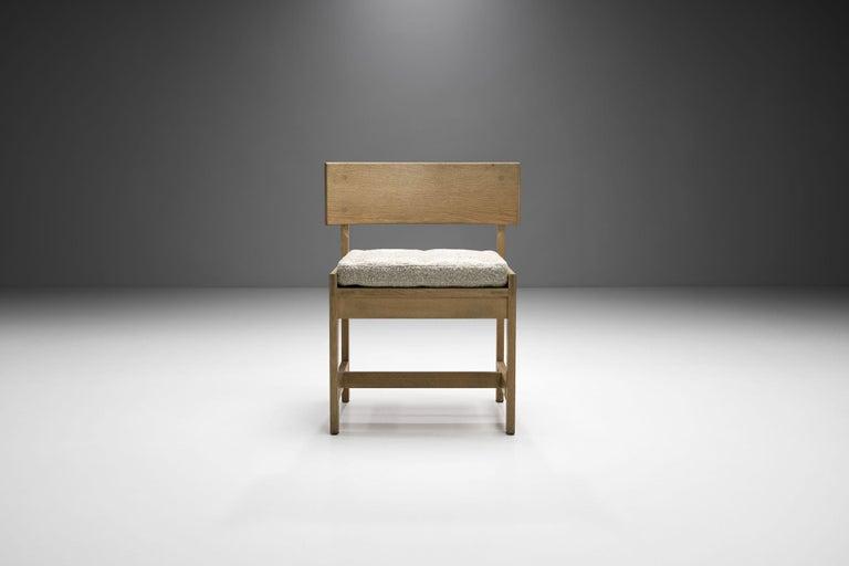 Set of Four Oak Chairs by Ilse Rix for Uldum Møbelfabrik, Denmark, 1961 For Sale 2