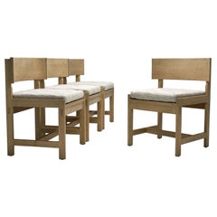 Set of Four Oak Chairs by Ilse Rix for Uldum Møbelfabrik, Denmark, 1961