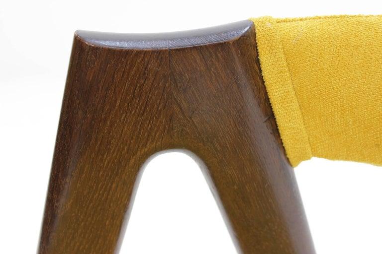 Set of Four Oak Compass Chair by Kai Kristiansen for SVA Møbler 5