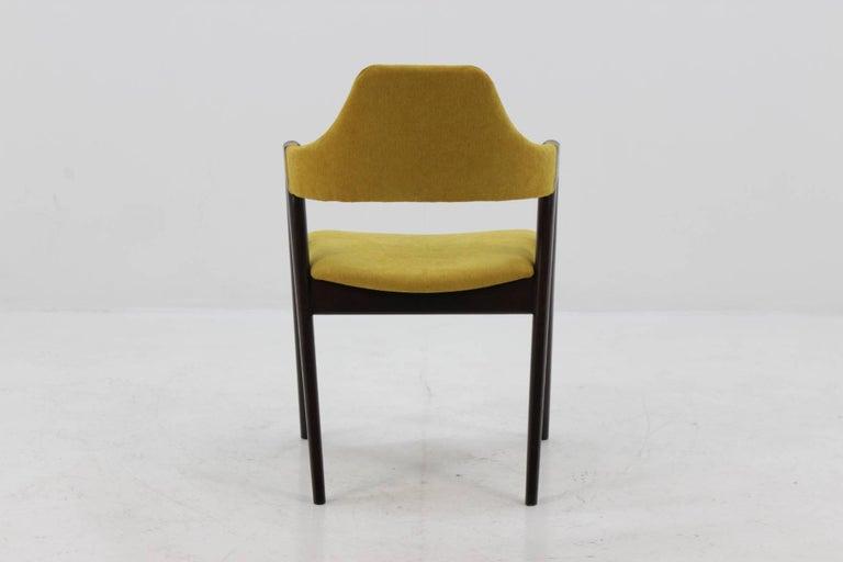 Set of Four Oak Compass Chair by Kai Kristiansen for SVA Møbler 1