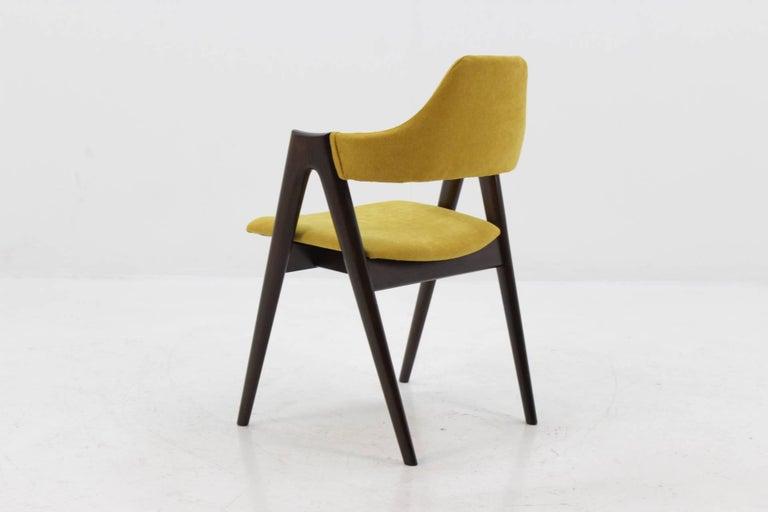 Set of Four Oak Compass Chair by Kai Kristiansen for SVA Møbler 2