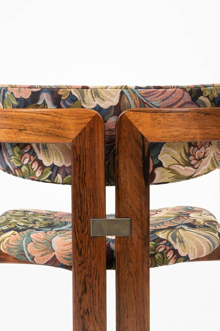 Set of Four Augusto Savini for Pozzi 'Pamplona' Chairs For Sale 6