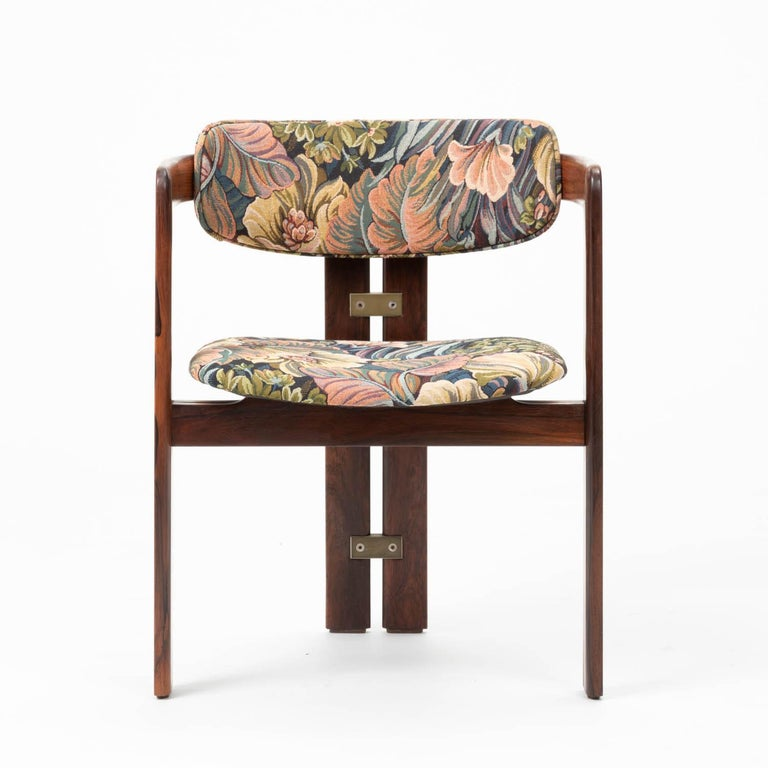 Mid-20th Century Set of Four Augusto Savini for Pozzi 'Pamplona' Chairs For Sale