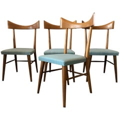 Set of Four Paul McCobb for Planner Group Dining Chairs