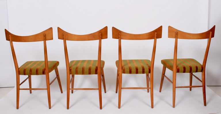 Mid-Century Modern Set of Four Paul McCobb Planner Group Dining Chairs, 1950s For Sale