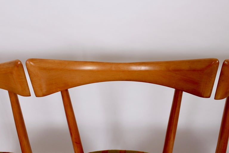 Mid-20th Century Set of Four Paul McCobb Planner Group Dining Chairs, 1950s For Sale