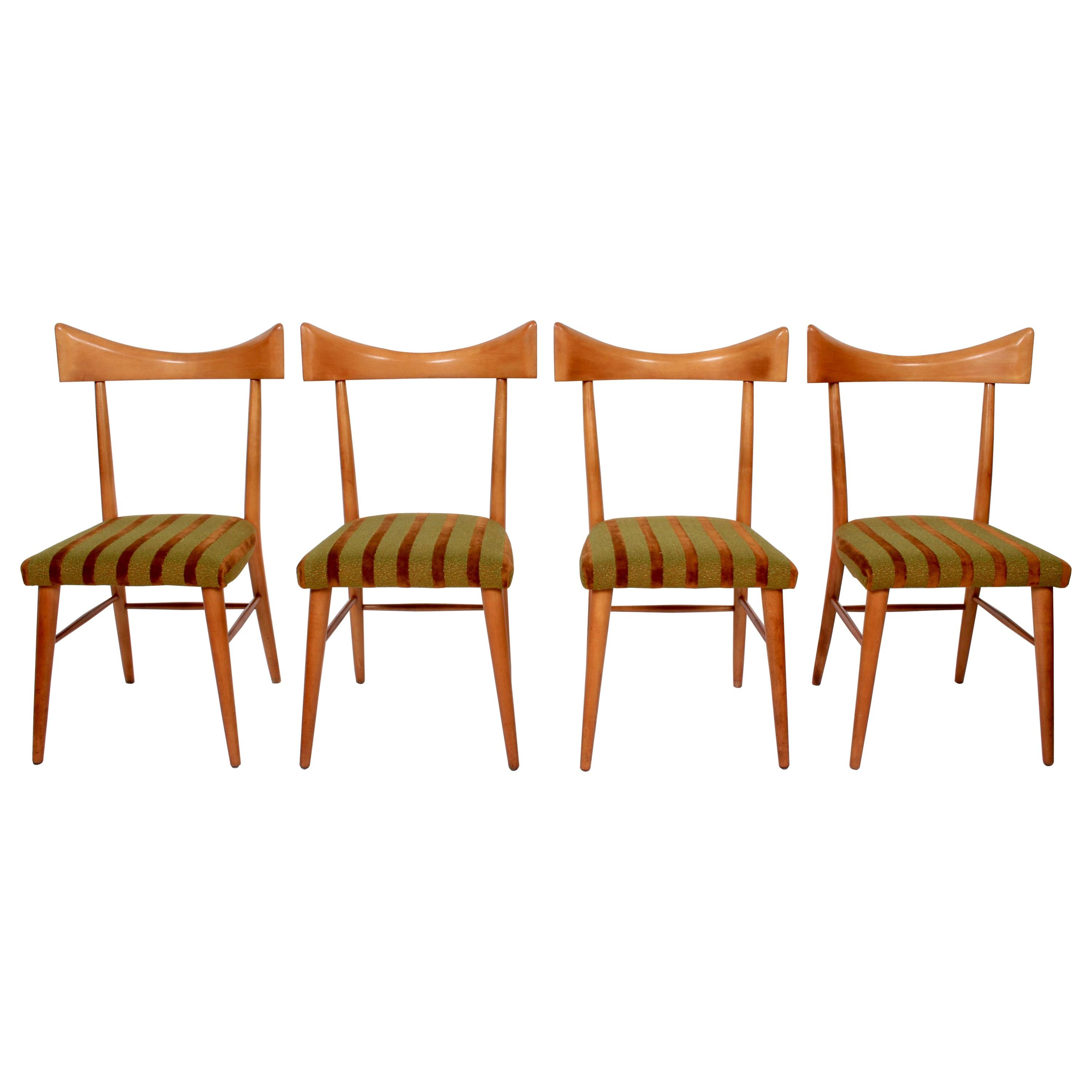Set of Four Paul McCobb Planner Group Dining Chairs, 1950s